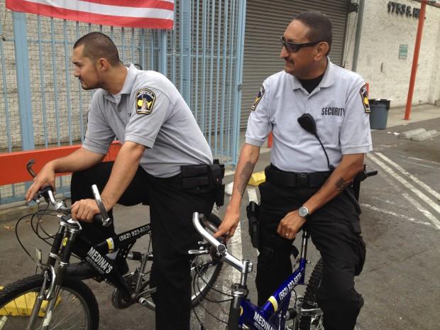 bicycle security patrol